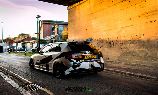 Audi A3 Camo design