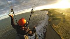 Mar del Plata acantilados Paragliding