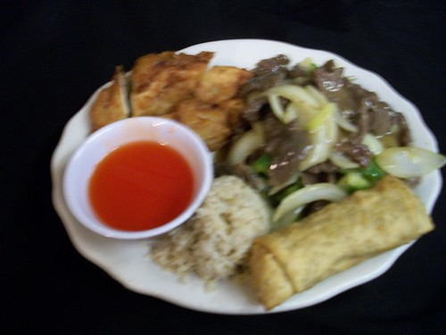C7 Pepper Steak and Sweet & Sour Chicken | by Golden Gate Chinese Restaurant