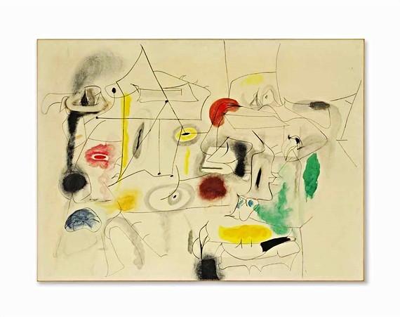 Gorky, Arshile (1904-1948) - 1945 Childs Companions (Christie's New York, 2014)