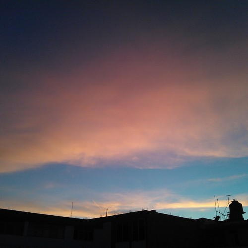 Roses in the #sky. #clouds #twilight #nofx