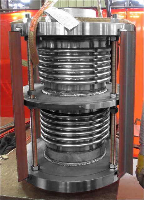 "12"" Tied Universal Expansion Joint Designed for a Power Plant"