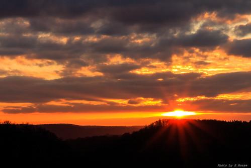 sunset sun nature landscape sonnenuntergang natur sachsen anhalt landschaft harz thale rosstrappe