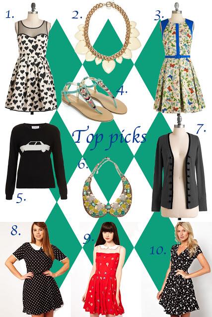 Top picks I love: week 38