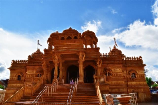 Sanatan Mandir (temple)..Fractalius