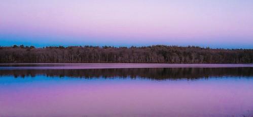pink sunset sky lake nature colors evening purple lakeside photostream