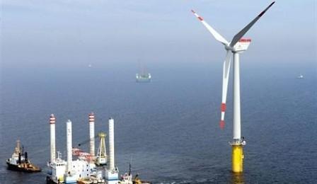 Proyecto eólico en Courseulles-sur-Mer