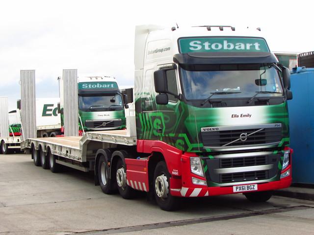 Stobart Lowloader , Volvo FH (Ella Emily) H4841