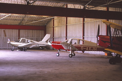 denham june 73 hangared G-AZJH b pup plus others | by sickbag_andy