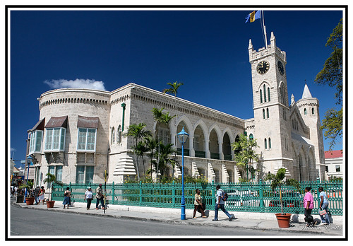 colonial parliament unesco barbados caribbean bridgetown governmenthistory