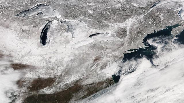 February 2015 Leaves Its Mark on the Eastern U.S.