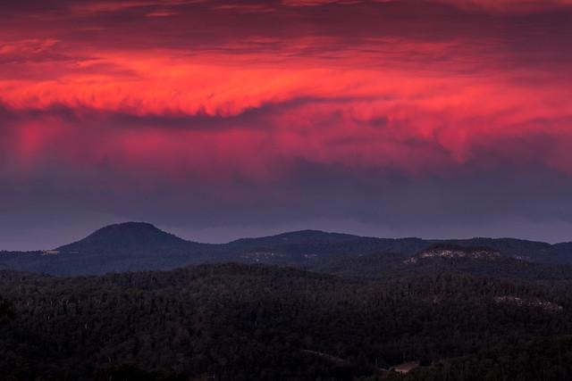 Wombanook Sunset