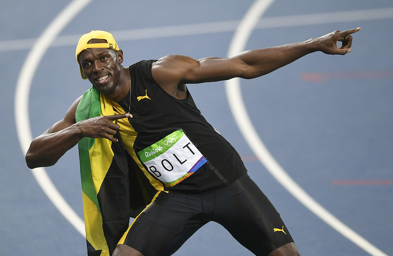 Usain Bolt。(達志影像資料照)