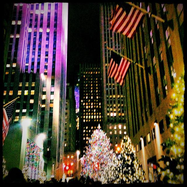 Christmas Lights- Rockefeller Center