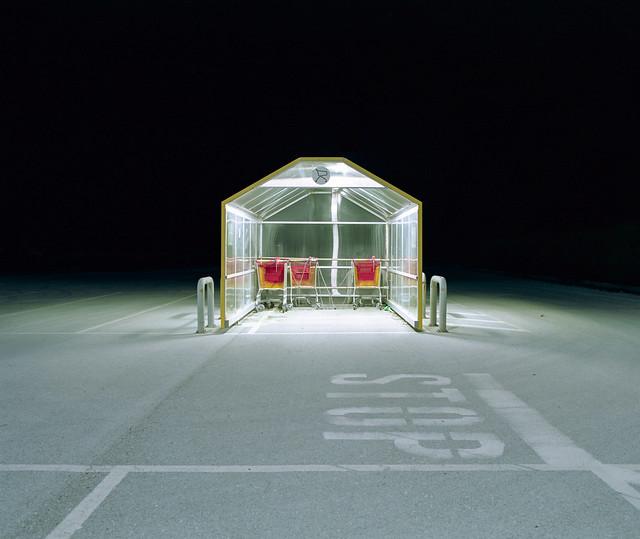 shopping carts parking