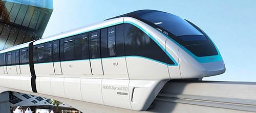 Monorail Train for Riyadh by Bombardier