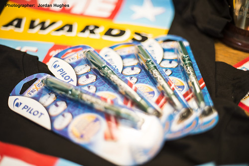 Pilot FriXion sponsors the NME Awards 2015 with Austin Texas   by Pilot Pen UK
