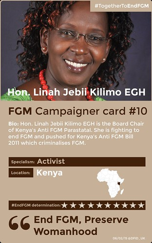 #TogetherToEndFGM campaigner card #10 | by DFID - UK Department for International Development