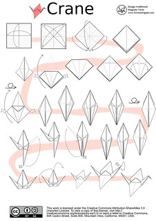 Awe Inspiring Origami Crane Diagram Tavins Origami Flickr Wiring 101 Capemaxxcnl