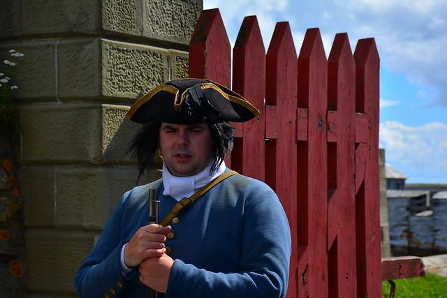 Gate Guard at Louisburg