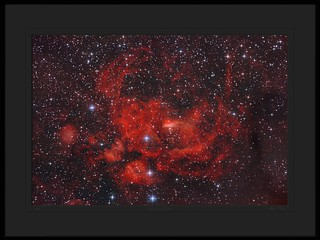 Bright Nebula NGC 6357 in Scorpius - by Mike O'Day ( https://500px.com/mikeoday ) | by Mike O'Day