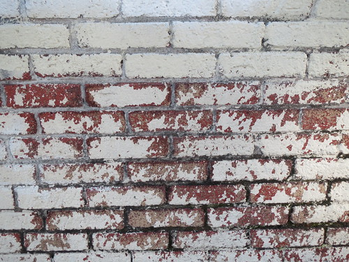 Red and White Brick Wall Background | by shaire productions