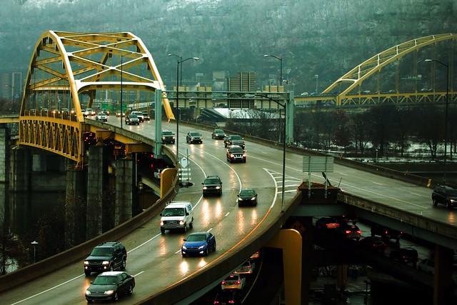 The Fort Duquesne Bridge