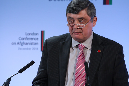Russia's Special Representative for Afghanistan Zamir Kabulov | by DFID - UK Department for International Development
