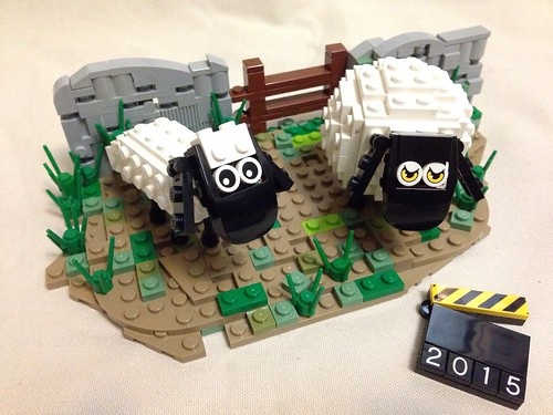 Shaun the Sheep in the year of Sheep
