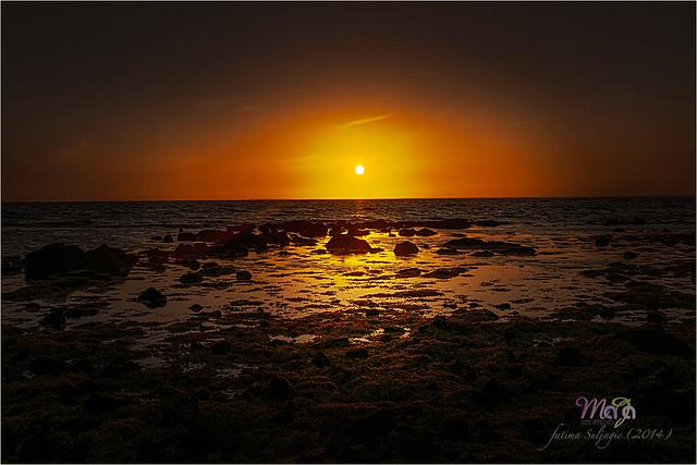 Williamstown Beach Sunset by Fatima Suljagic (Nikon D800; DSC_5308)