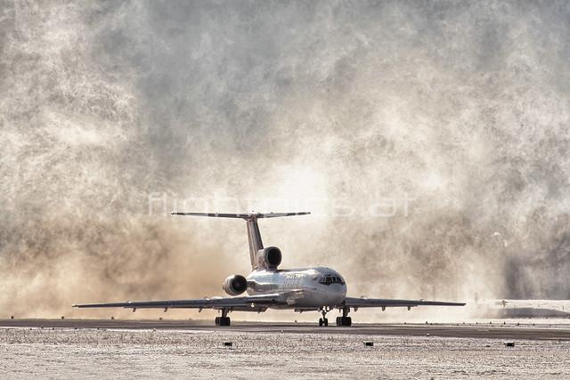 Samara Airlines | Tupolev Tu-154M | RA-85823 | Salzburg | LOWS | January2, 2008 | http://www.flightpics.at