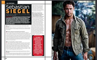 p1 AHF Mexico Magazine (issue Feb 2015) interview with Sebastian Siegel on film, fitness and Latin Culture | by DriveEntertainment