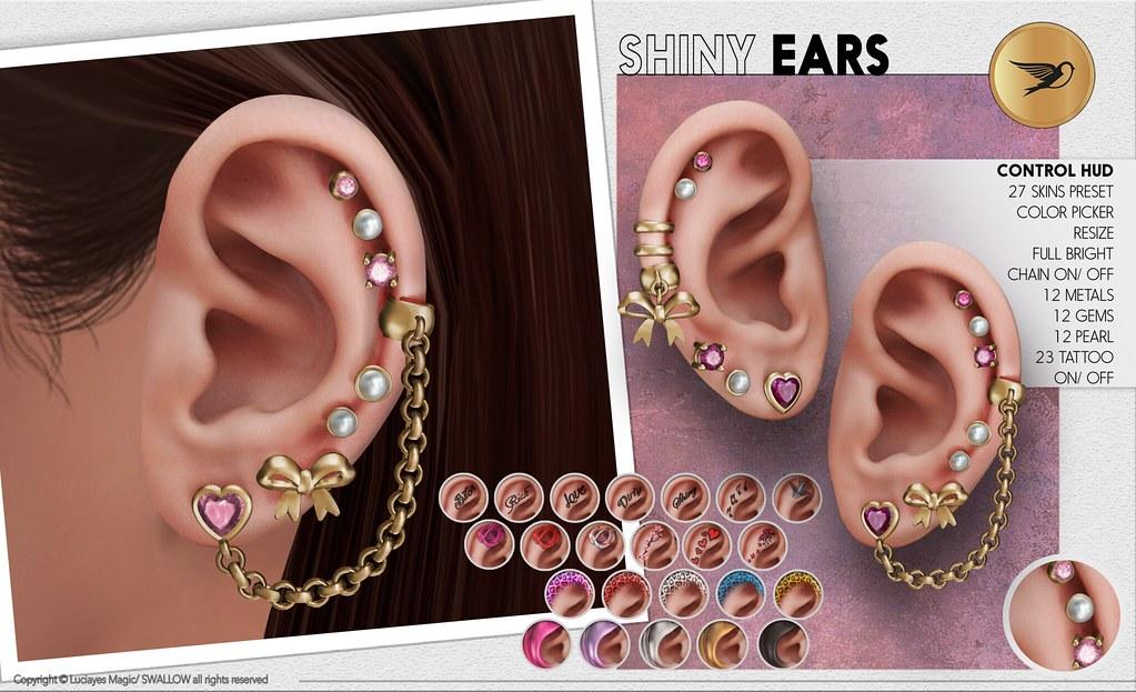 Swallow^^ Shiny Ears   maps secondlife com/secondlife/Cobr