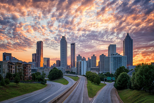 2016 architecture atlanta atlantaskyline canonef1740f4l clouds copyright2016 downtown georgia jacksonstreetbridge metaboneseftoeivt nikcollectionbygoogle skyline sonyilce7rm2a7rii sunset travisrhoadsphotography urban