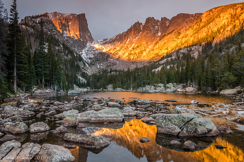 dreamlake rockymountainnationalpark sunrise rockymountains landscape smile alpinelake nationalparks colorado estespark