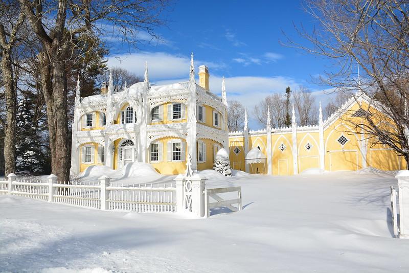 The Wedding Cake House (1856)