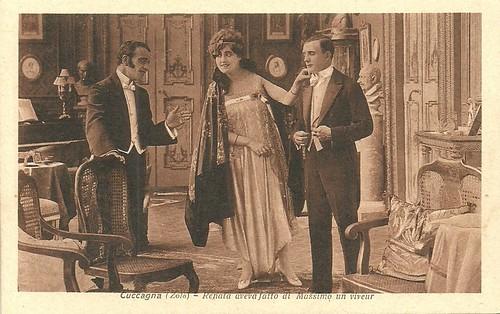 Hesperia in La Cuccagna (1917)