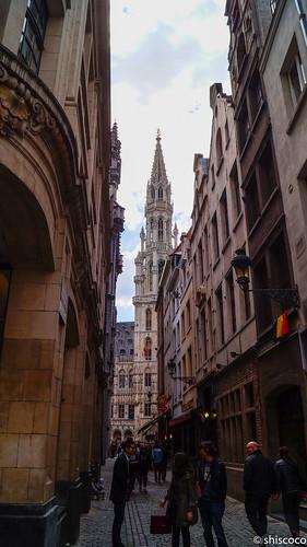 Hacia la Gran Plaza, Bruselas