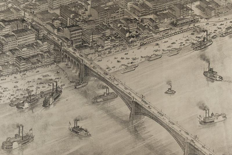 Eads Bridge CD Map