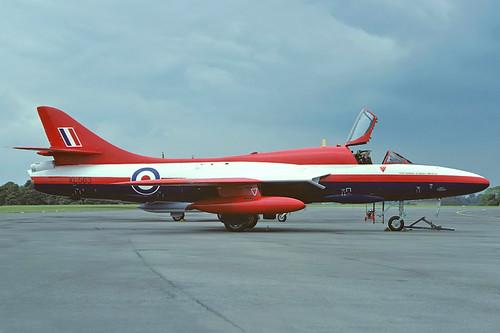 XL563 Hunter T7 RAE, MOD(PE) Farnborough | by Stuart Freer - Touchdown Aviation