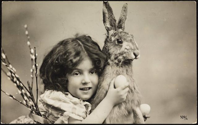 Påskekort ca. 1907 / Easter Card ca. 1907