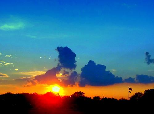 sunset newyork brooklyn image manhattanbeach dmitriyfomenko sum22013