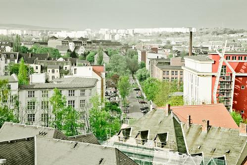 city skyline germany landscape view saxony sachsen landschaft urbanlandscape chemnitz stadtlandschaft concretehills