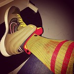 It's Tuesday... // @ivmarsh1 @adam_gooch @derrickagolden @clzer @johnwlovelace @stancesocks @nike #dunkfree #sockgame