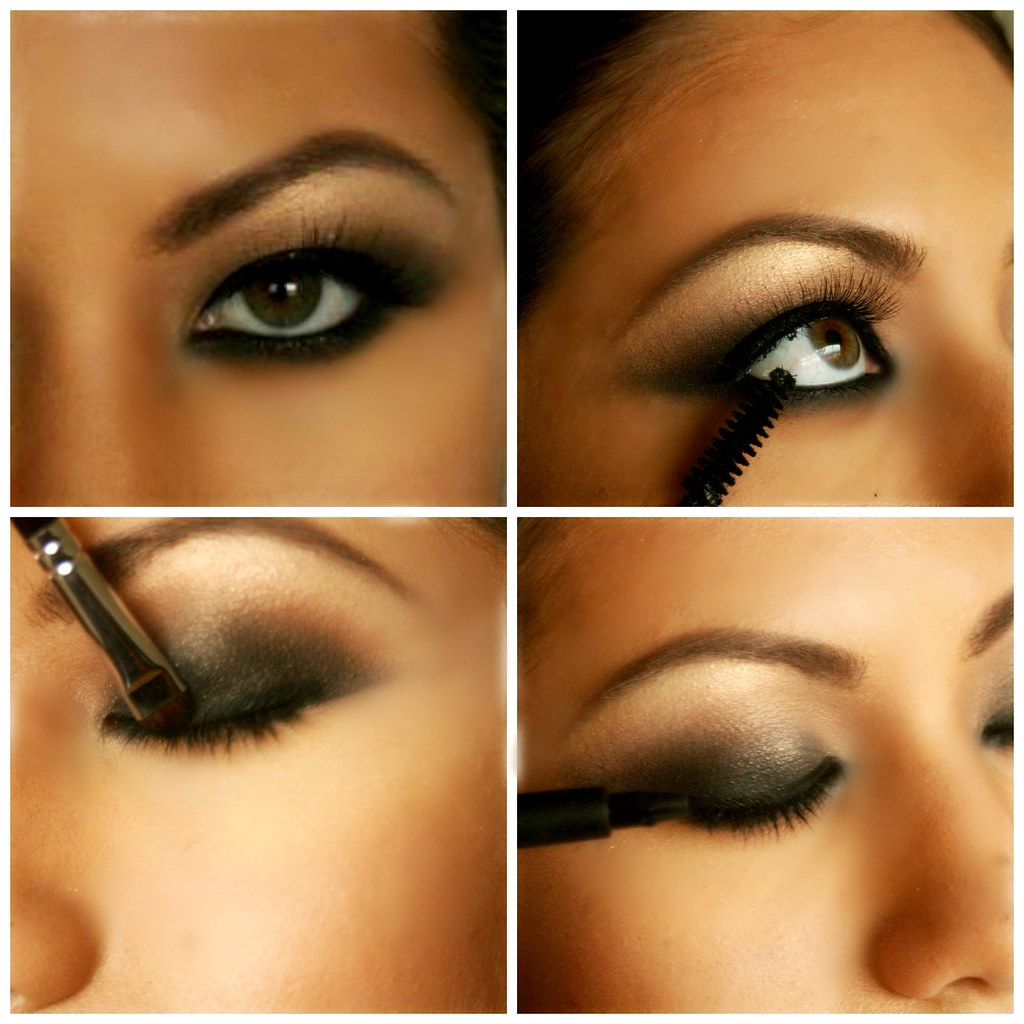 how to do classic smokey eye makeup ? - a photo on flickriver