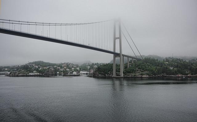 Puente entrada a Bergen