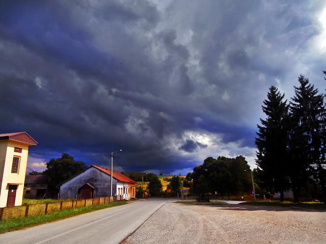after summer storm