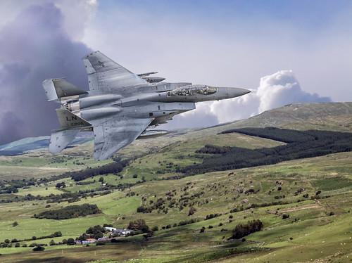 f15 maldurbin strikeeagle machloop machynlleth usaf aviation raflakenheath jets canon landscape mountain outdoor