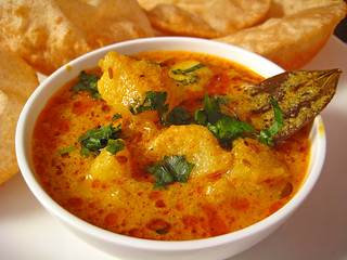 Yogurt Potato Curry Recipe From North Indian Cuisine By Sonia Goyal | by Sonia Goyal Jaipur