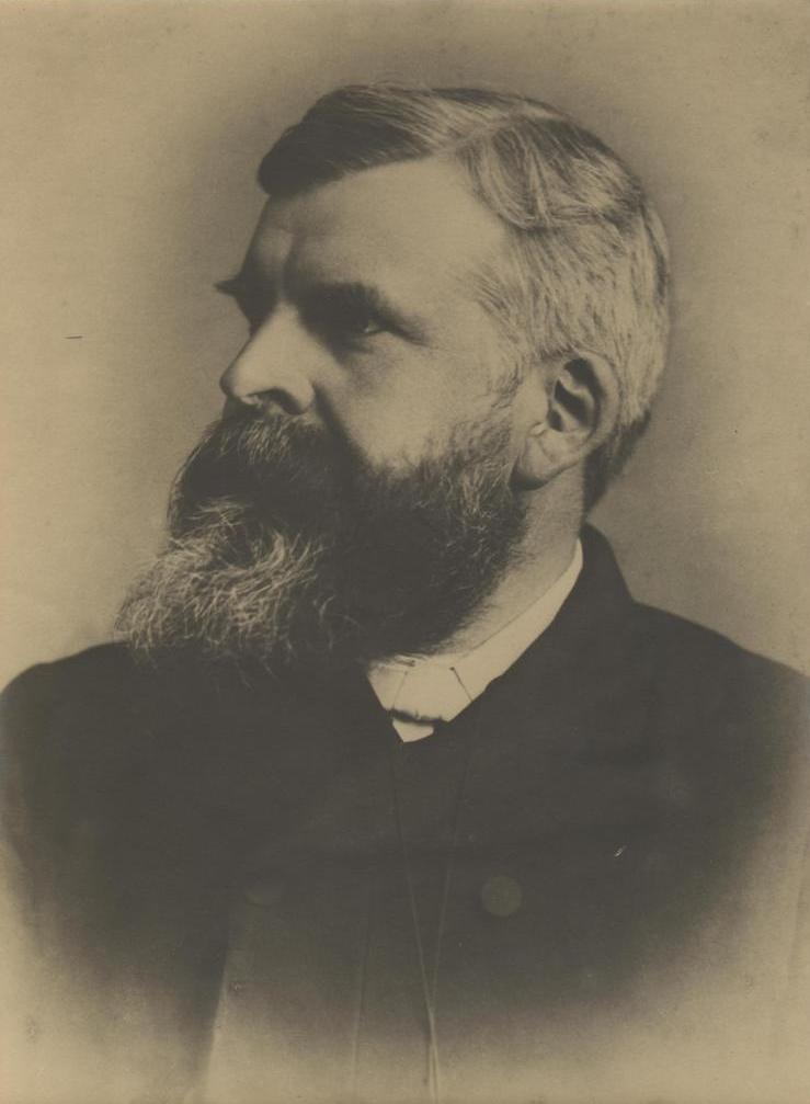 Reverend J A Faithfull, vicar of Holy Trinity, Scarborough 1882 (archive ref PE176-32)